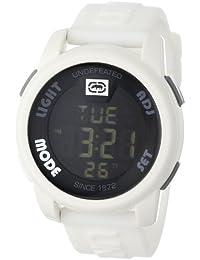262abbdf9a2 Men s E07503G2 20-20 Digital White Resin Strap Watch · Marc Ecko