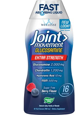 Wellesse Joint Movement Glucosamine Liquid Dietary Supplement (33.8 fl. oz.)
