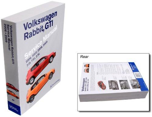 Bentley W0133-1828566-BNT Paper Repair Manual VW Rabbit/GTI (A5)