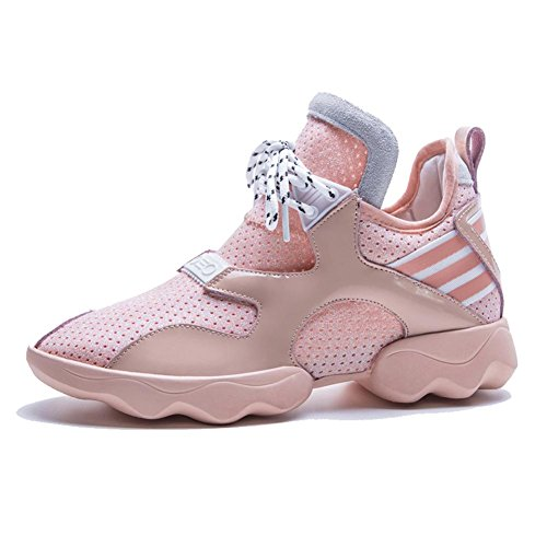 Pink KJJDE WSXY Senderismo Deportivas y A1408 Running Para Aire Mujeres Zapatos Zapatos con Libre Plataforma 6fwq6RpB