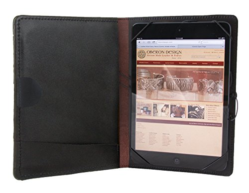Leather iPad Mini Cover | Tree of Life by Oberon Design
