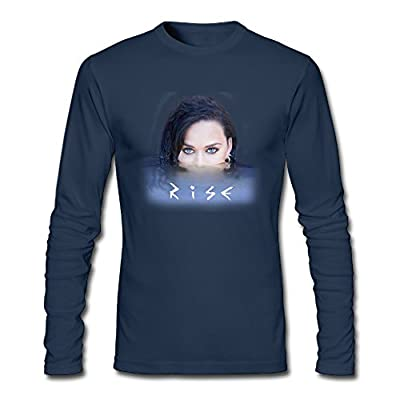 Long Sleeve Male Katy Perry Rise T Shirts T Shirts 80s 100 Cotton O-Neck