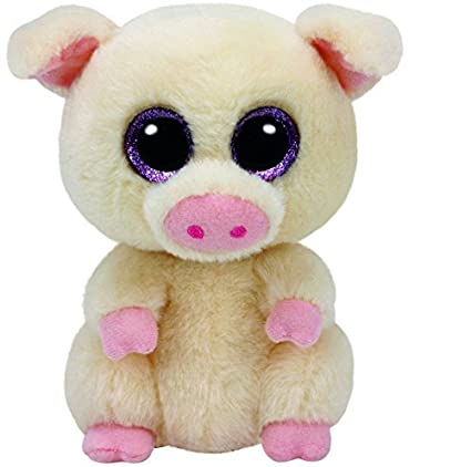 18bd8b3dcbe Amazon.com  TY Beanie Boo Plush - Piggley the Pig 15cm by Carletto ...