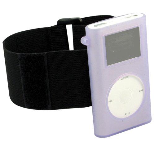 (CTA Digtal Skin Case for iPod Mini (Armband Purple))