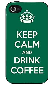 KEEP CALM and DRINK COFFEE iPhone 4/4s case