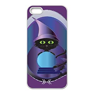 iPhone 5 5s Cell Phone Case White GYPSY KITTY JNR2020631