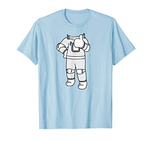 (Cool Funny Astronaut Halloween Costume Shirt Spaceman)