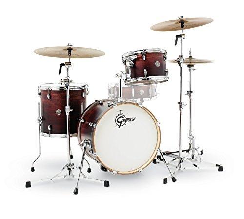 Gretsch Drums CT1-J483-SAF Catalina Club 3 Piece Drum Shell Pack Satin Antique Fade [並行輸入品]   B07MB463MN
