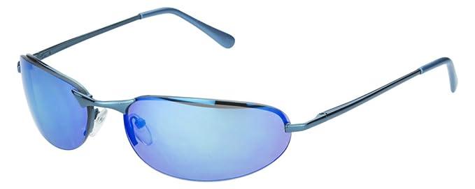 Sense42 Sportbrille Unisex Damen Herren Sport Sonnenbrille Metall silber mit silber verspiegelten Gläsern mit flexiblen Federschanierbügel mit Brillenbeutel 2J5wU8b