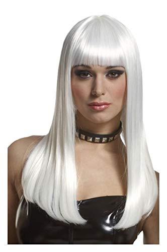 Mademoiselle Series - Ovedcray Costume series Platinum Mademoiselle Adult Wig