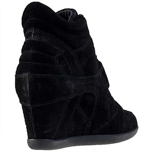 Ash Schuhe Bowie Bistro Sneaker aus Wildleder Damen Black