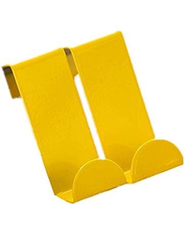ColorJoy - Gancho para Puerta Superior – Ganchos para revestimientos Resistentes, para Colgar en la