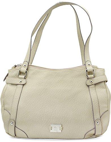 Style & Co. Womens Buckle Cargo Handbag Sand