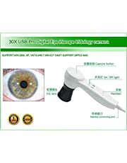 Iridology Camera USB Iriscope Iris Analyzer with English and Spanish Software