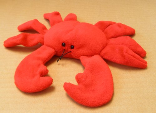 - TY Beanie Babies Digger the Crab Stuffed Animal Plush Toy - 8 inches long