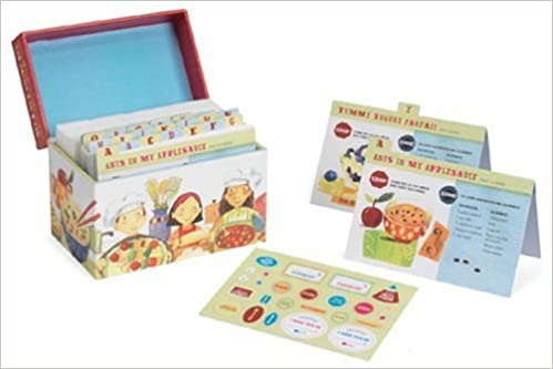 My a to z recipe box an alphabet of recipes for kids hilary my a to z recipe box an alphabet of recipes for kids hilary karmilowicz melissa sweet 9780811855211 amazon books thecheapjerseys Images