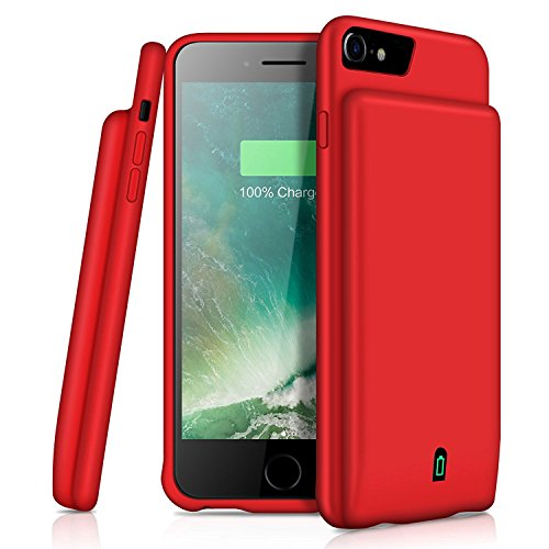 iPhone 8/7/6 Battery Case YISHDA 4500mAh Portable Charging Case for iPhone 8 iPhone 7 (4.7 inch) Extended Battery Juice Pack/Support Headphones [Battery Charger Case Also fit for iPhone 6S/6]