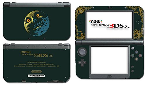 Price comparison product image Legend of Zelda Majora's Mask Special Edition Moon Video Game Vinyl Decal Skin Sticker Cover for the New Nintendo 3DS XL LL 2015 System Console