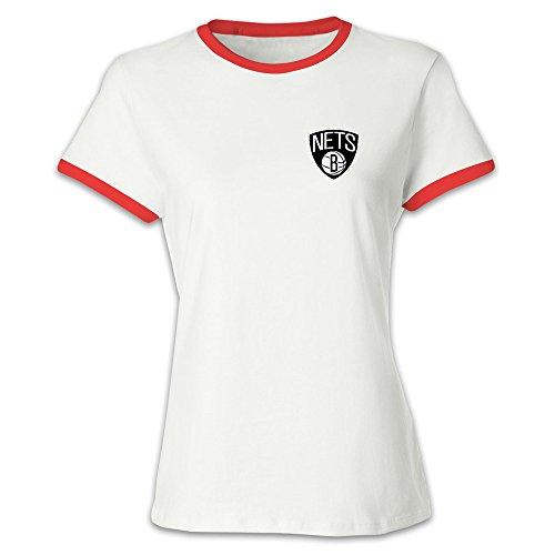 Brooklyn Nets Women's Lady Short Sleeve Tshirts ()