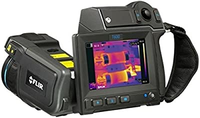 "FLIR 55903-1022 Model T600-25 Thermal Imaging IR Camera with Wi-Fi and 25° Lens; Built-in touch screen, 4.3"" LCD screen, 800x480 pixels; 480x360 Pixels infrared resolution, 45°x19° field of view (FOV)"