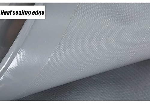 Auvent gris argent patrouille antiaérienne patrouille argent de patrouille argent couteau gris grattant bâche de protection bâche imperméable à l'eau bâche de protection solaire (taille : 2m x 2m) 7cdbf7
