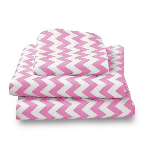 bkb Chevron Toddler Sheet Set, Green BabyKidsBargains 009243401674