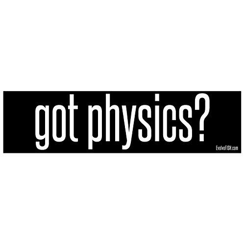 EvolveFISH Got Physics Bumper Sticker 11