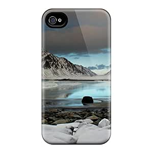 Hot Jgb26009KBXF Frozen Mountainscape Cases Covers Compatible With Iphone 4/4S