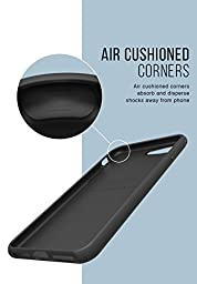 Silk iPhone 7 Plus Grip Case - Base Grip for iPhone 7+ [Slim Fit Lightweight Protective No-Slip Cover] - Black Onyx