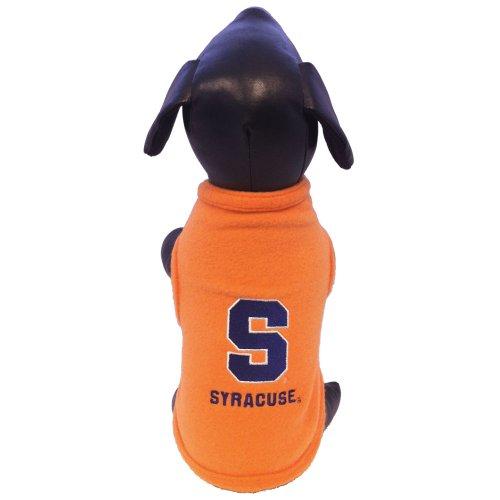 Syracuse Orangemen Fleece - NCAA Syracuse Orange Polar Fleece Dog Sweatshirt, XX-Large