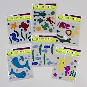 Ocean theme gel stickers toys games for Amazon gelbsticker