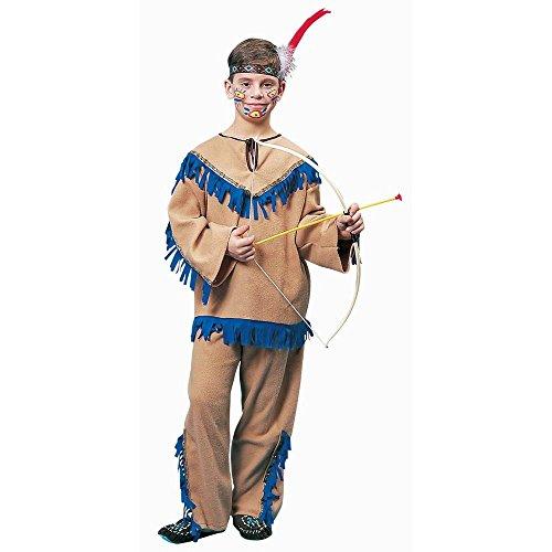 [Native American Warrior Kids Costume] (Indian Warrior Costumes)