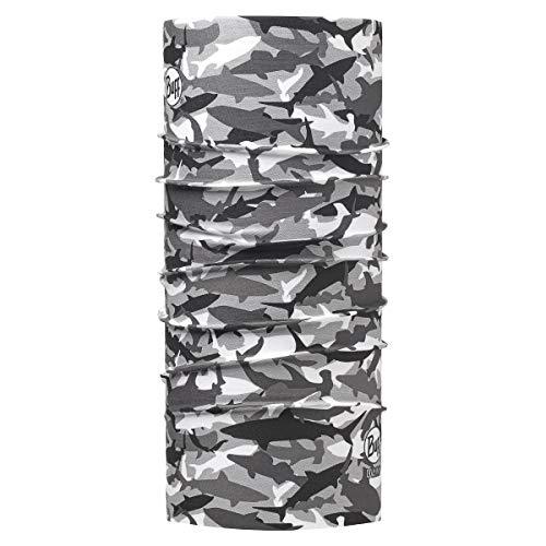 BUFF UV Multifunctional Headwear, Shark Camo-Grey, One Size