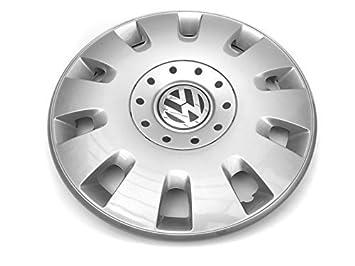 Tapacubo Volkswagen, color plata, tapacubo 16 pulgadas: Amazon.es: Coche y moto