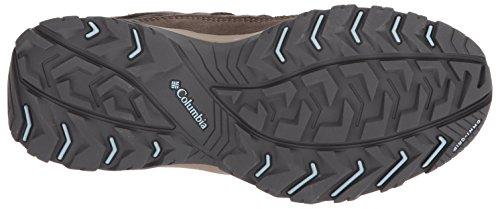 Mid Hiking Columbia Crestwood Oxygen Pebble Waterproof Boot Women's Eww4BqS