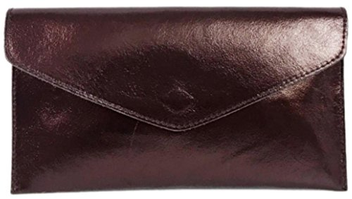 S Metalic Dark femme pour London Craze Pochette Brown xIRvOqnw7U