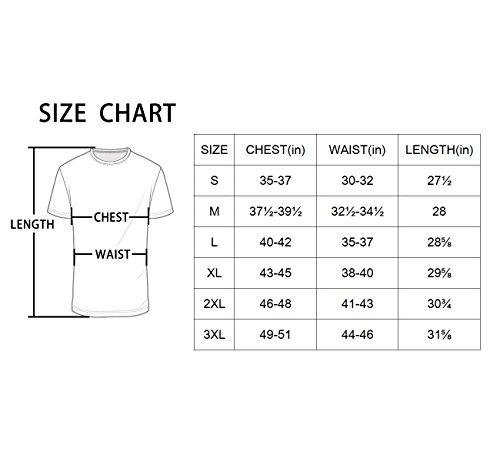 Baleaf Men's Quick Dry Short Sleeve T-Shirt Running Fitness Shirts White Size M by Baleaf (Image #7)