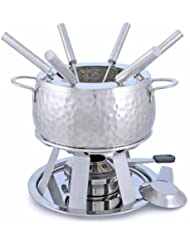 Swissmar F66917 11-Piece Bienne  Meat Fondue Set, Stainless Steel
