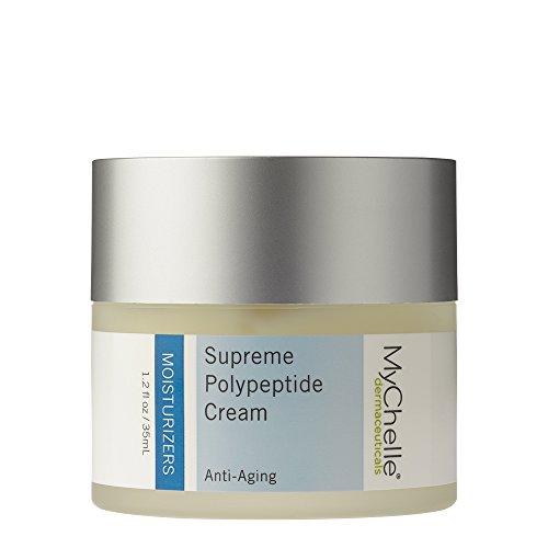 41CvLEp MGL - MyChelle Dermaceuticals Supreme Polypeptide Cream Scented -Nutrient Rich moisturizer, Anti-Aging & Skin Firming Formula, Cruelty-Free, sulfate & Paraben Free, 1.2 Fl Oz
