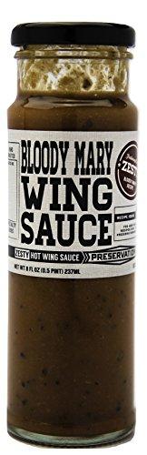Preservation & co. Zesty Bloody Mary Wing Sauce, 8 oz Jar