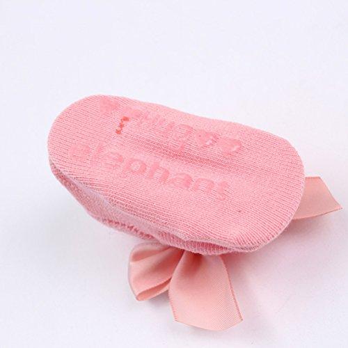 De bajo costo LUOEM Calcetines de algodón antideslizante pajarita para niños  recién nacidos recién ... 3839cfc9385ce