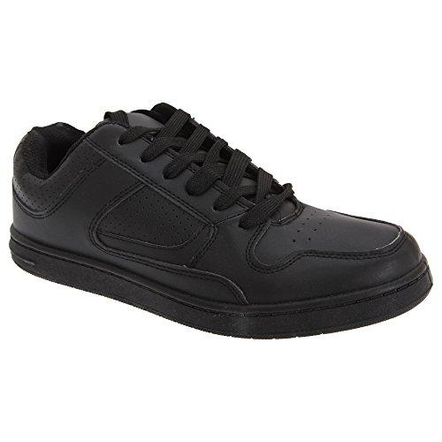 Scarpe Da Ginnastica / Sneakers In Pizzo Dek Mens Euston Nere