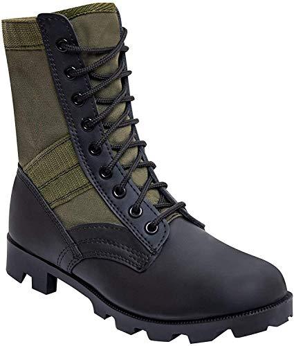 Rothco 8'' GI Type Jungle Boot, Olive Drab, Regular 6