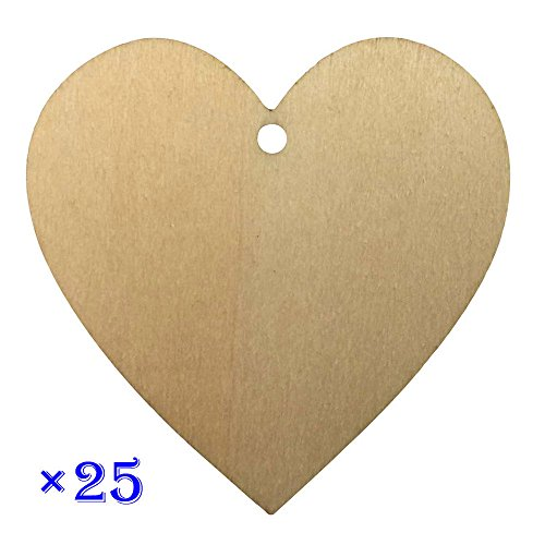 Wooden Hearts and Stars We offer a variety of hearts and stars in several different styles and sizes. Our hearts and stars are unfinished and sanded smoothly. They are .