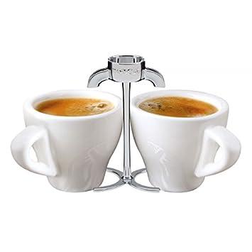Boquilla dos tazas para cafetera de espresso 2 tazas de cerámica ...