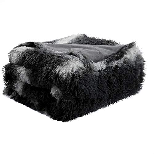 uxcell Faux Fur Throw Blanket 50