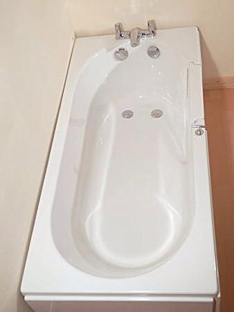 La mampara de baño 150 Avrail: Amazon.es: Hogar