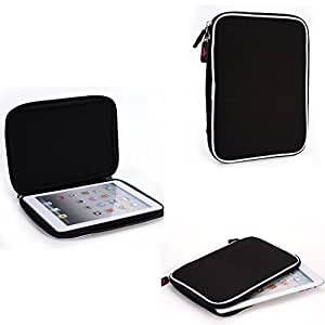 Universal Nylon case lined with scratch resistant micro fiber- Compatible with Visual Land Prestige Pro 7D