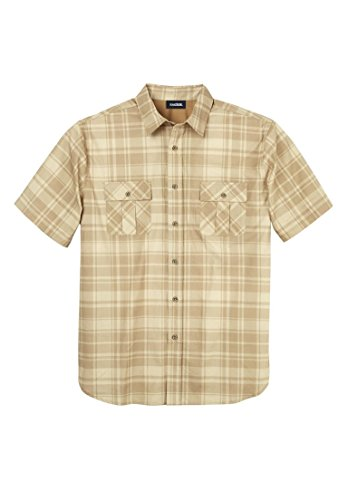 Kingsize Boathouse Short Sleeve Plaid