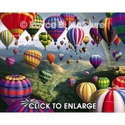 Visual Echo 3D Effect Sky Roads 500pc Puzzle